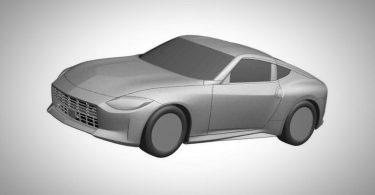 Патентне зображення Nissan Z