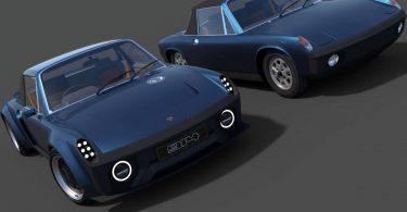 Британці показали сучасну версію Porsche 914