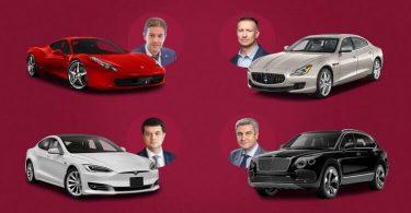 У нардепів виявили Tesla, Ferrari і Maserati: хто з Ради їздить на суперкарах