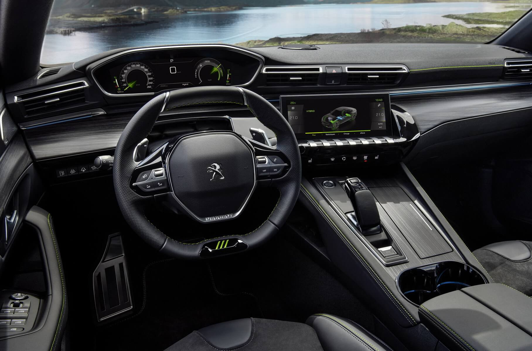 Інтер'єр Peugeot 508 Sport Engineered