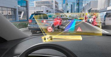 Panasonic представила голографічний дисплей для автомобілів нового покоління
