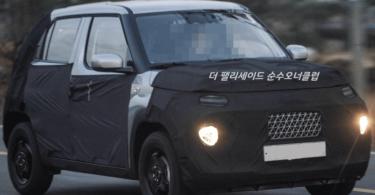Hyundai тестує новий крихітний кросовер