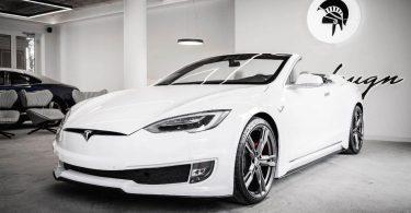 кабріолет Tesla Model S
