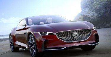 Британська MG показала свій перший спортивний електромобіль