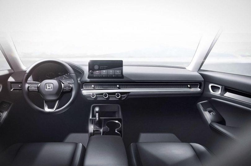 Салон нової Honda Civic, офіційний ескіз Honda