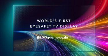 LG анонсувала перший в світі телевізор із захистом очей Eyesafe
