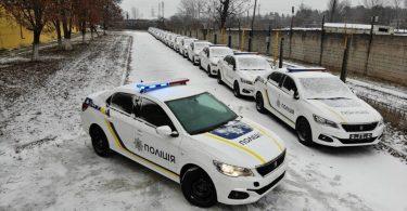 Українські поліцейські пересядуть на Peugeot