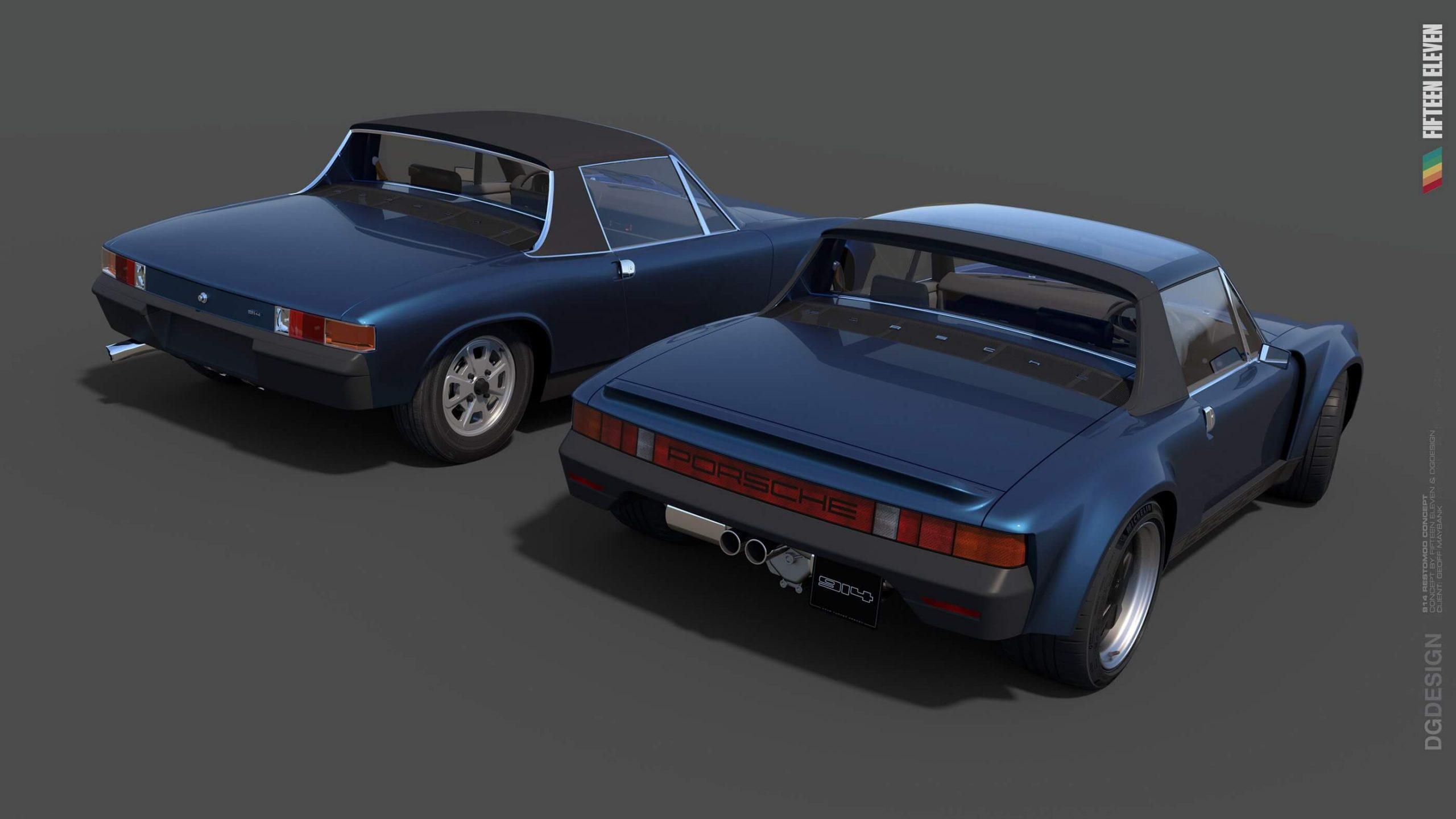 Porsche 914 Fifteen Eleven Design