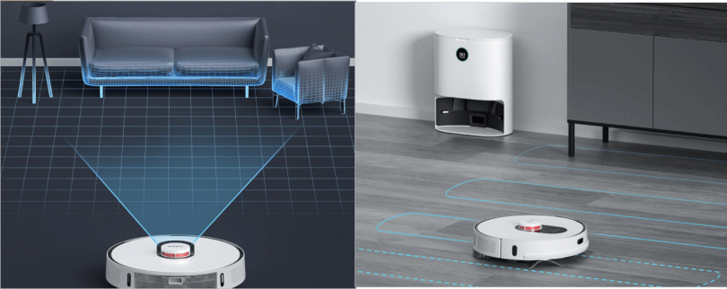 Roidmi Self-Colleing Robot Vacuum