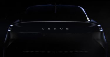 Lexus опублікував нове зображення загадкового електрокара