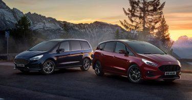 Мінівени Ford S-Max і Galaxy стали гібридами