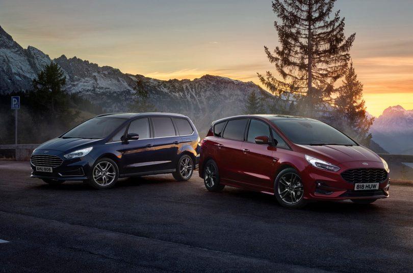 Ford S-Max і Galaxy
