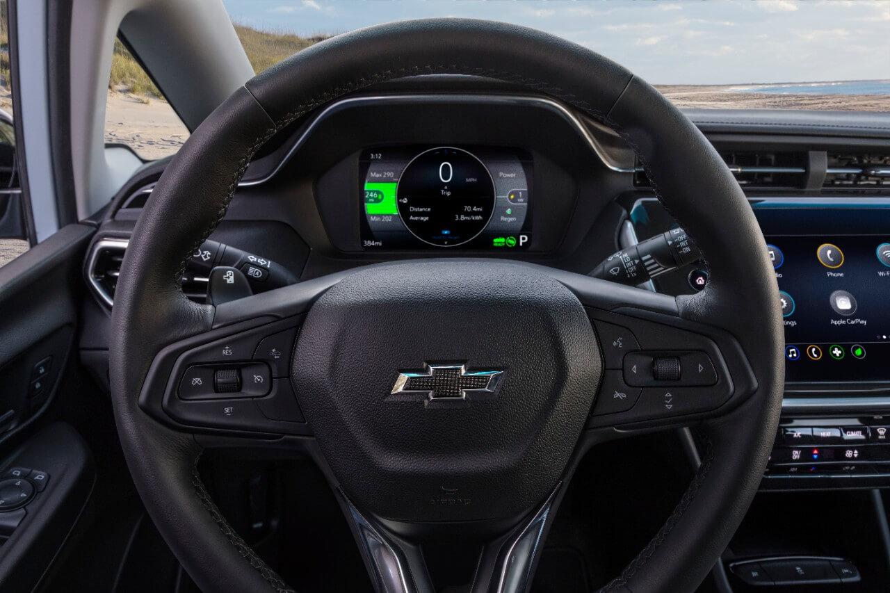 Оновлений Chevrolet Bolt
