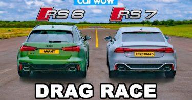 Audi: RS 6 Avant проти RS 7 Sportback