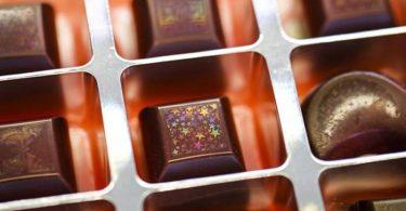 Голограма на шоколаді