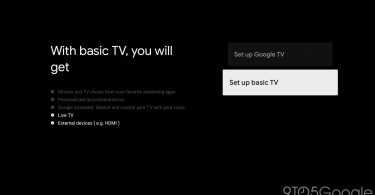 Google TV Basic