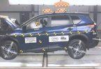 Nissan Rogue краш-тест