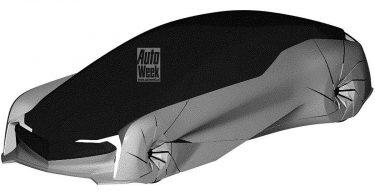 Honda запатентувала таємничий футуристичний концепт-кар