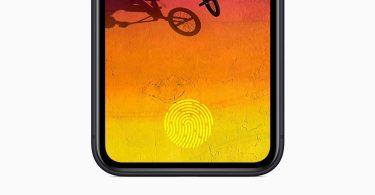 Apple розробила надточний підекранний сканер Touch ID
