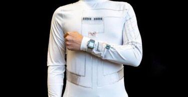 Створено одяг, який генерує енергію з власних фізичних зусиль і поту [ВІДЕО]