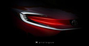 Toyota показала перше зображення нового електромобіля