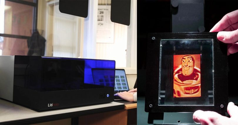 домашній 3D-принтер LitiHolo