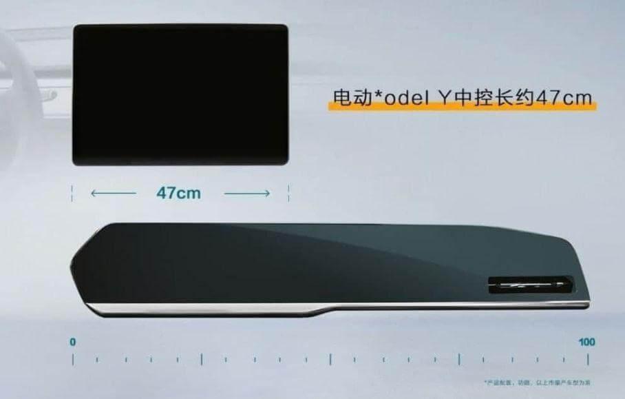 Порівняння екранів в Geely KX11 і Tesla Model Y