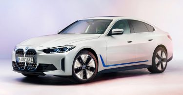 BMW розкрила зовнішність електричного лифтбека i4