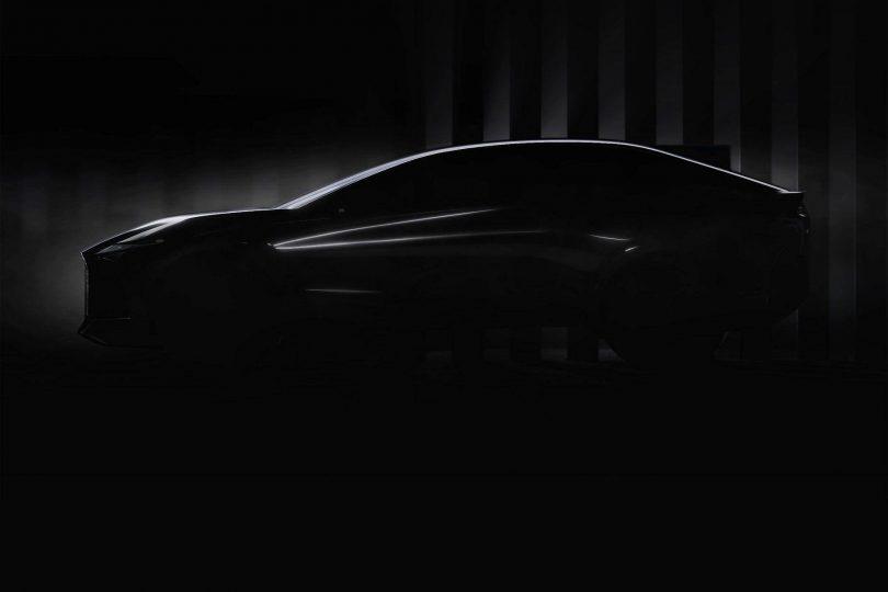 Ранні тизери електрокара Lexus