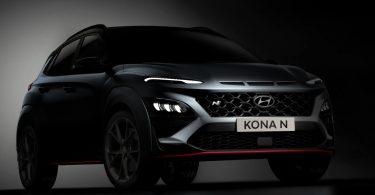 Hyundai розкрив дизайн «зарядженого» кросовера Kona N