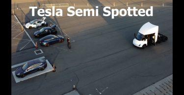 Відео: електро-вантажівка Tesla Semi проходить фінальні випробування