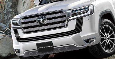 З'явилися нові подробиці про Toyota Land Cruiser 300