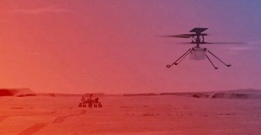 На початку квітня NASA проведе перший запуск вертольота Ingenuity на Марсі