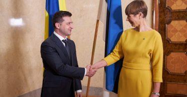 Зеленський обговорив із президентом Естонії євроінтеграцію України