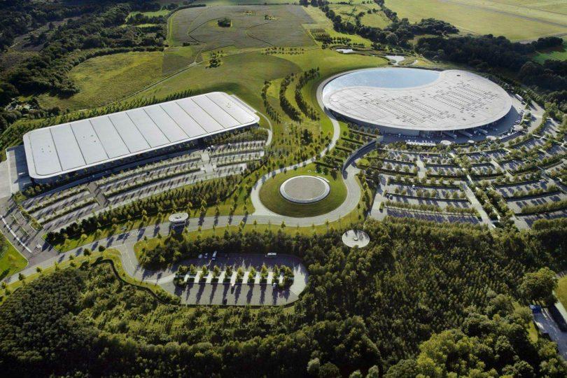 Штаб-квартира McLaren