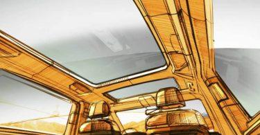 Volkswagen Transporter отримає нову компоновку салону і панорамний дах