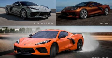Chevrolet Corvette будуть фарбувати в три нових відтінки