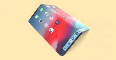 Складаний iPhone з безрамковий екраном на патентному зображенні