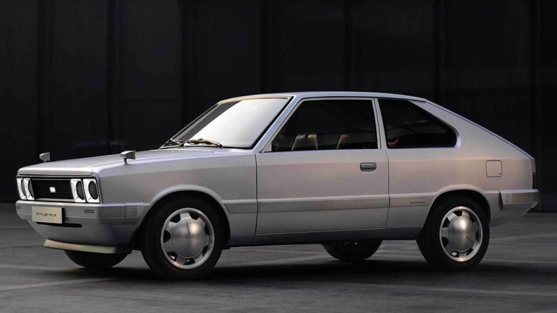 Електричний концепт Hyundai Pony