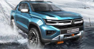 Volkswagen розкрив дати прем'єр нового мінівена Transporter і пікапа Amarok