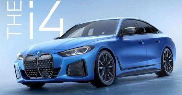 З'явилася перша фотографія «зарядженого» електроседана BMW