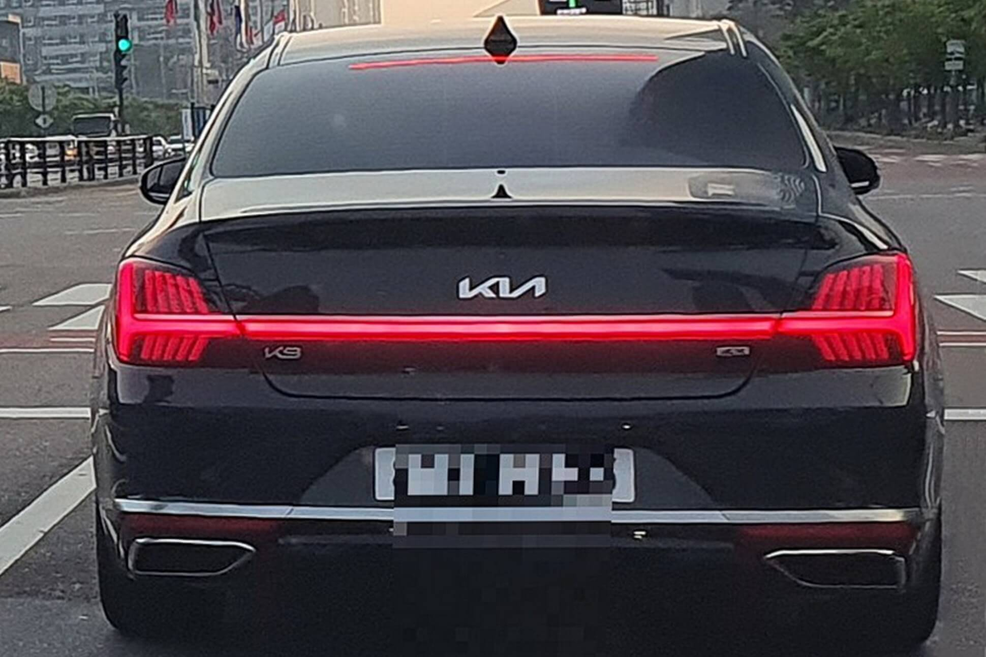 Оновлений Kia K9