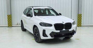 Розкрито зовнішність оновленого BMW X3