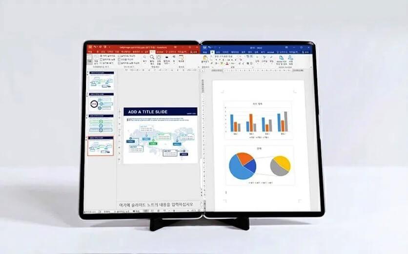 Samsung: S-подібний дисплей