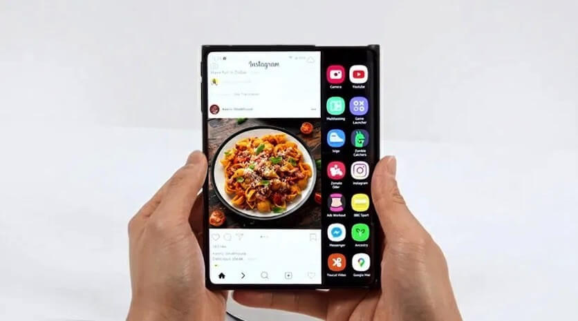 """Samsung: """"екран-слайдер"""""""