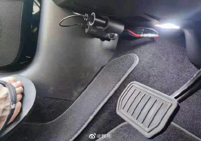 Педаль Tesla