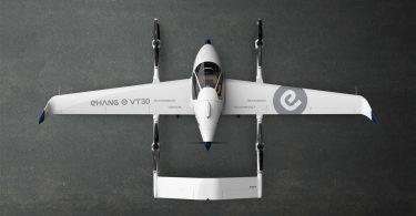Аеротаксі EHang VT-30 дозволить швидко літати між містами