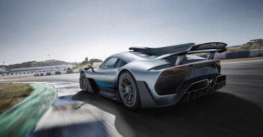 Відео: гіперкар Mercedes-AMG заглох під час випробувань