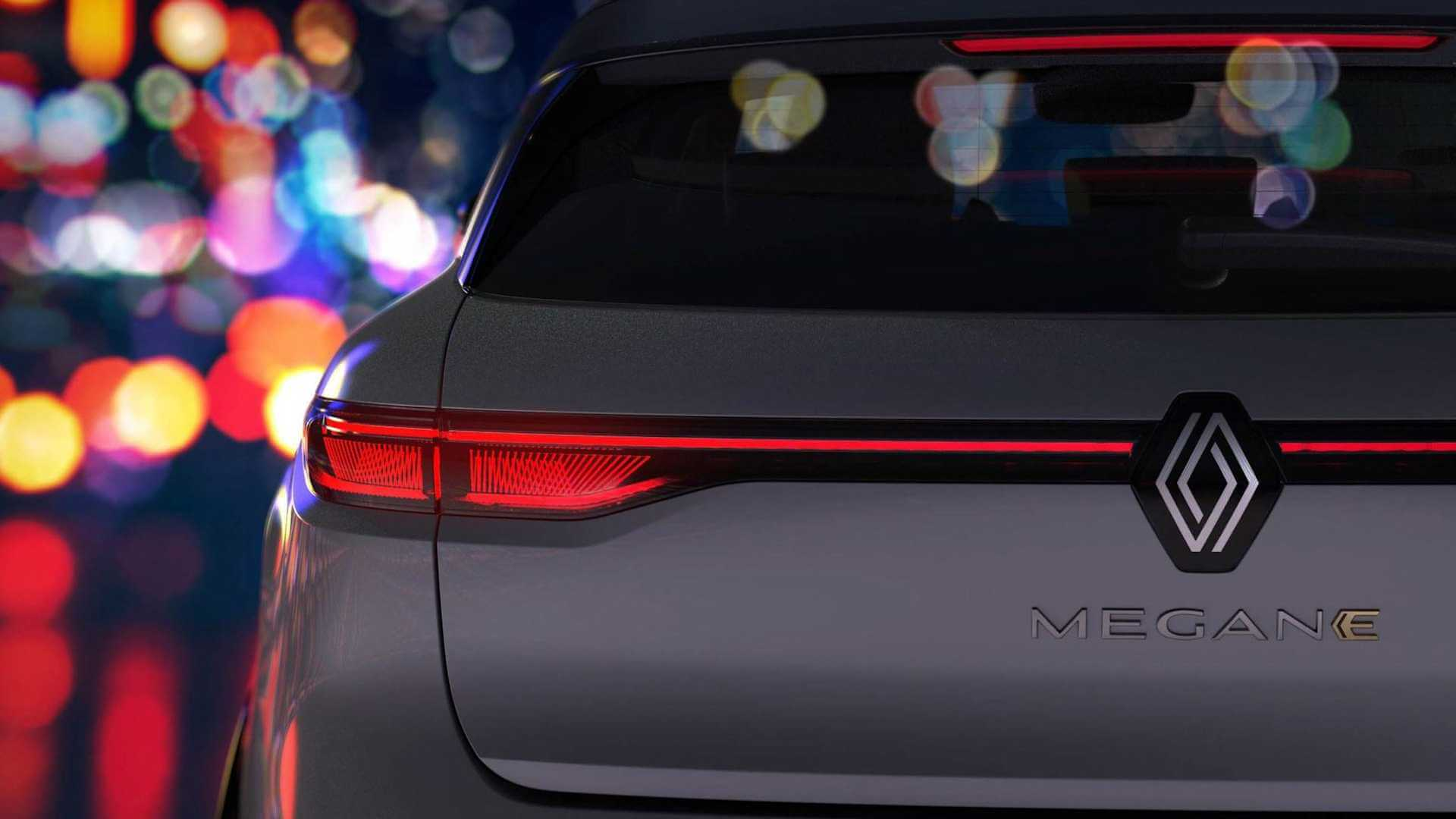 Renault показала екстер'єр та інтер'єр електричного Megane