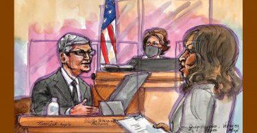 Тім Кук в суді: «Ми абсолютно не думаємо про гроші»